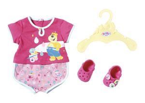 BABY born Bath Pyjamas & Clogs 43cm