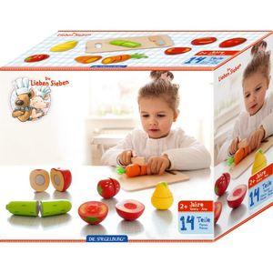 Spiegelburg Schneide-Set Obst & Gemüse  Kaufladenzubehör * 14422