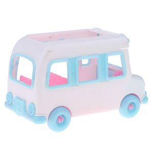 Mini-Kunststoff Auto Fahrzeug Modell Spielzeug für Barbie Schwester Kelly Puppe Zubehör