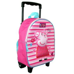 Nickelodeon trolley-Rucksack Peppa Pig31 x 25 x 12 fuchsien