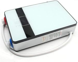 6500W Elektro Warmwasserspeicher Digital Durchlauferhitzer Untertisch Druckfest Dusche Set