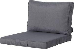 Madison lounge-Kissen Panama Luxe 60 x 60 cm PolyBaumwolle grau