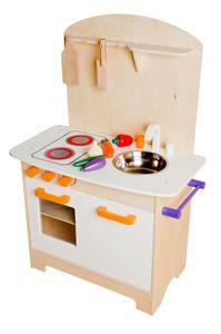Glow2B Spielwaren Küche aus Holz ,