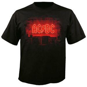 AC/DC Herren-T-Shirt  schwarz  PWR / UP 003  Gr. 4XL