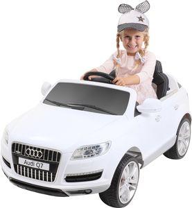 Kinder-Elektroauto Audi Q7 4L Lizenziert (Weiß)