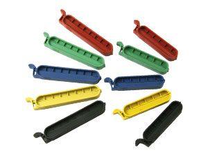 Beutel-Verschlussklammern, 10 Stück