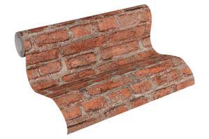 Livingwalls Vliestapete Neue Bude 2.0 Tapete bunt grau rot 10,05 m x 0,53 m 361392 36139-2