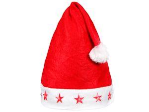 Weihnachtsmütze für Kinder mit Blinksternen Modell: WM-14