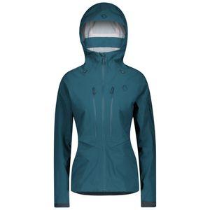 Scott Skijacke Damen Explorair DRX 3L majolica blue M