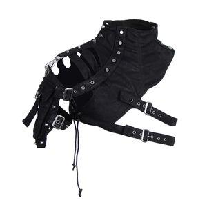 Retro Steampunk Weiches Leder Pauldron Umhängetasche Arm Brust Rüstung Kostüm