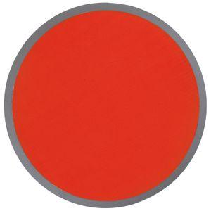 5x Frisbee mit Tasche / Wurfscheibe / auch zum bemalen geeignet / Farbe: rot