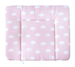 """roba Wickelauflage soft 75 x 85 cm """"Kleine Wolke"""" rosa, polyurethanbeschichtet, abwaschbar"""