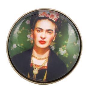Abzeichen Broschen Abzeichen Brosche Pins Retro Frida Kahlo Metall Kreativer Schmuck Frauen