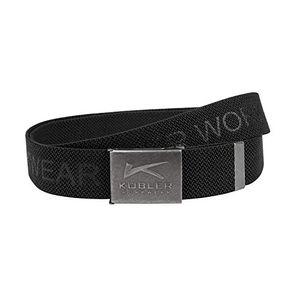 KÜBLER Workwear KÜBLER KÜBLER Stretchgürtel schwarz, Onesize, Unisex-Stretchgürtel aus Mischgewebe, Stretchgürtel