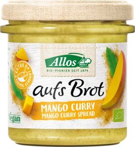 Allos Auf's Brot Mango & Curry 140g