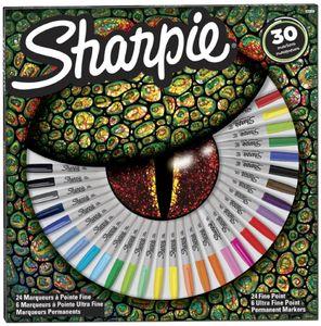 """Sharpie Permanent-Marker FINE 30er BIG PACK """"Auge"""""""