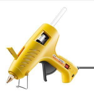 Dowofuu Heißschmelzklebepistole 60-100 W Dual Power Heißschmelzpistole mit Schalterverteilung und einstellbarer Temperatur A.