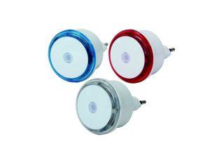 GAO Small Round 3er Set LED Steckdosen Nachtlicht Dämmerungssensor