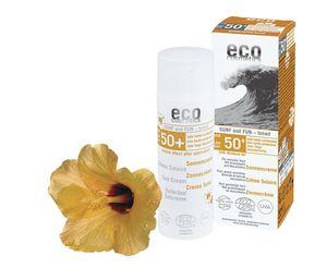 eco cosmetics Surf & Fun getönte Sonnencreme LSF 50+ - 50 ml