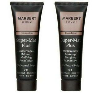 MARBERT Foundation Super Mat Plus Make-up 02, 2 x 30 ml