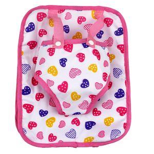 Herz Kinderrucksack Schultasche Puppentragetasche Für 18inch  American Dolls