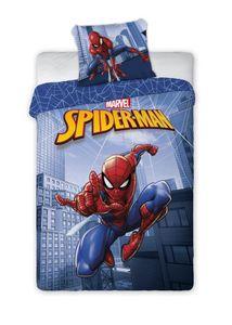 Spiderman Marvel - Kinderbettwäsche 2tlg. Set 135 140x200 Baumwolle für Jungen