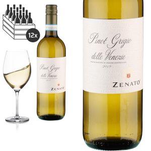 12er Karton 2019 Pinot Grigio delle Venezie von Zenato Azienda Vitivinicola - Weißwein