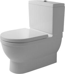 Duravit Stand-WC-Kombination BIG TOILET STARCK 3 tief, 420 x 740 mm, Abgang Vario weiß