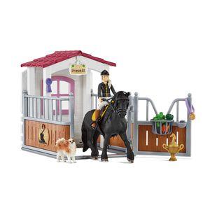 Schleich  Horse Club 42437 Pferdebox mit Horse Club Tori & Princess