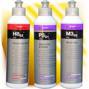 Koch Chemie  Antihologramm  Politur + Heavy Cut + Micro Cut Set