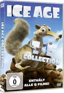 Ice Age  1-5 BOX SET (DVD) *Neuauflage 5Disc