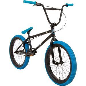 Bullseye Project 501 BMX 20 Zoll Park Freestyle Bike Fahrrad 2 Pegs 3 Farben, Farbe:schwarz/blau
