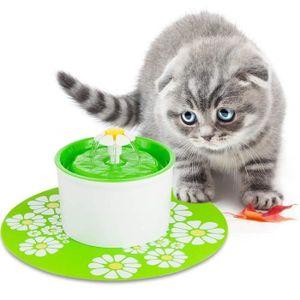 Katzen-und Hundetrinkbrunnen Haustier Blumentrinkbrunnen Trinkbrunnen für Katzen und Hunde Automatisch Leise Haustier Wasserbrunnen Wasserspender mit Aktivkohlefilter