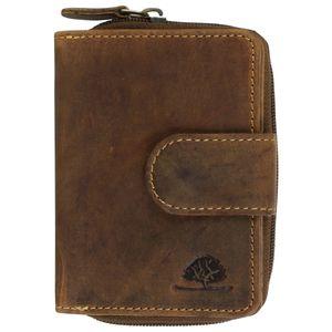 Greenburry Vintage Leder Reißverschlussbörse 1792-25