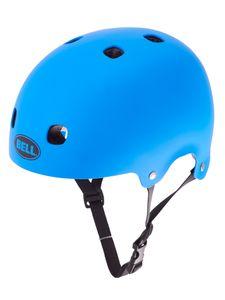 Bell Segment Fahrradhelm Radhelm Helm BMX MTB Inliner Skater Dirtbike, Größe:S, Farbe:Mat Blue