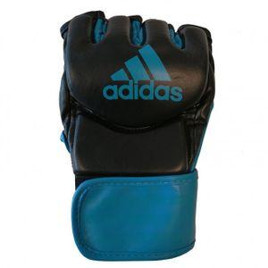 adidas Handschuhe Traditional Grappling schwarz / blau Größe XL