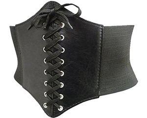 Damen Korsett Gürtel Taille Stretchgürtel Breiter Hüftgürte 65 - 110 cm