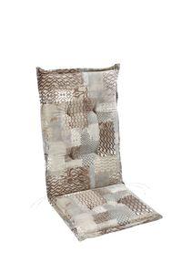 Best Gartenmöbelauflage Sesselauflage hoch mit Stehsaum 120x50x7cm; 4201741