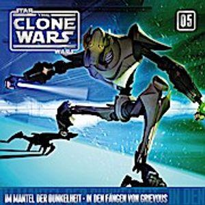 Star Wars, The Clone Wars - Mantel der Dunkelheit - In den Fängen von Grievous, 1 Audio-CD