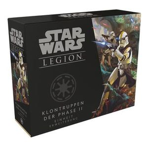 FFGD4655 - Klontruppen der Phase II: Star Wars Legion, ab 14 Jahren (Erweiterung, DE-Ausgabe)