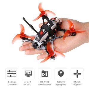EMAX Tinyhawk II Renndrohne FPV Drohne 120 km / h F4 5A ESC Bš¹rstenloser Motor 7000KV RunCam Nano2 700TVL 37CH 25/100 / 200mW VTX FPV Quadcopter BNF