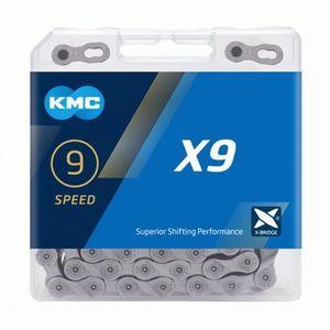 Kmc X9 Grau 114-Glieder 9-Fach