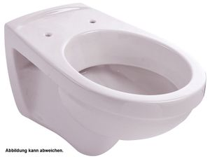 'aquaSu® Wand-WC   Tiefspüler   Manhattan   Grau   Toilette   Klo   Gäste-WC   Bad   Badezimmer   Keramik   Wand-WC   Hänge-WC