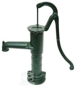 Handschwengelpumpe Brunnenpumpe Gartenpumpe Pumpe Klassik Guß grün 1 1/4'