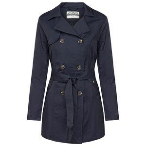 HAILYS Damen Trenchcoat, Farbe:blau, Größe:L