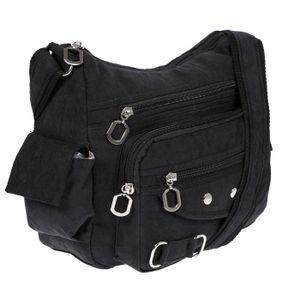 Christian Wippermann Damenhandtasche Schultertasche Tasche Umhängetasche Canvas Shopper Crossover Bag