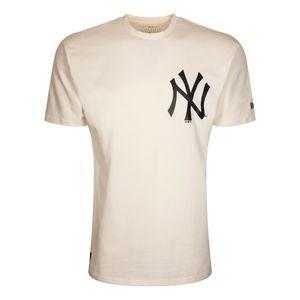 New Era Herren Oversized T-Shirt New York Yankees beige M