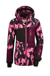 killtec Mädchen Skijacke Flumet GRLS Ski JCKT B, Farbe:neon-pink, Größe:152