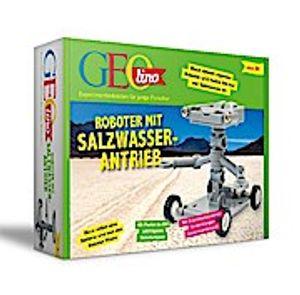 GEO Kids bausatz Robot junior 20 cm grau 11 Stück (DU)
