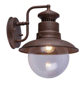 Globo Lighting SELLA Außenleuchte Stahl rostfarben, 1xE27, 3272R